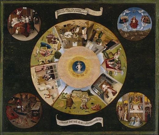 Hieronymus Bosch-Seven-Sins